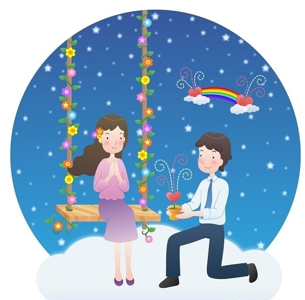 七夕节浪漫爱情表白说说配图片 牵着你的手,走过漫漫人生4