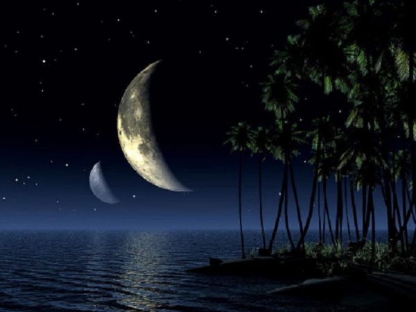 拍月亮发朋友圈说说 月色很唯美迷人的图片说说语句