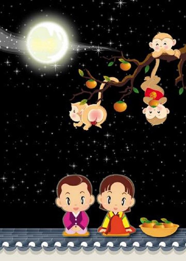 2020中秋节赏月图片说说 中秋家人团聚的唯美句子2