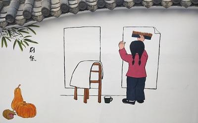 经典唯美的朋友圈说说图片造纸手绘图集