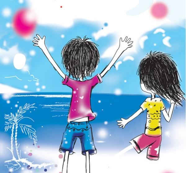 七夕节浪漫爱情表白说说配图片 牵着你的手,走过漫漫人生5