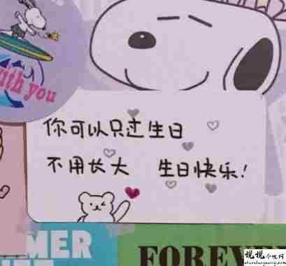 送个男孩子的生日祝福语带图片 写给男生的很有趣的生日文案5
