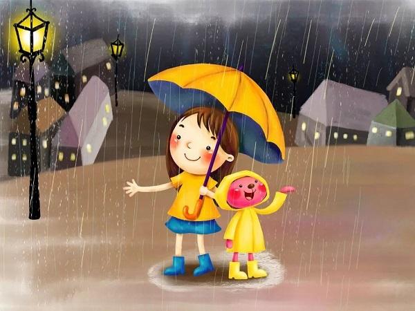 突然下大雨的心情说说 下爆雨发朋友圈的句子