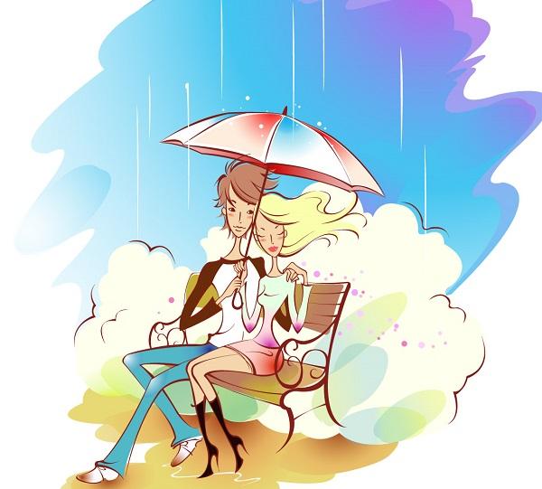 七夕节浪漫爱情表白说说配图片 牵着你的手,走过漫漫人生6