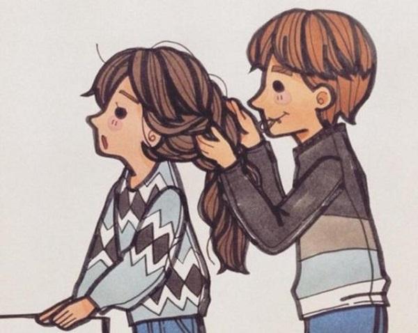 暗恋对方的说说,简短深情的暗恋句子,表达暗恋一个人的说说3
